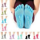 Yoga Non Slip Pilates Massage 5 Toe Socks Full Grip Socks He