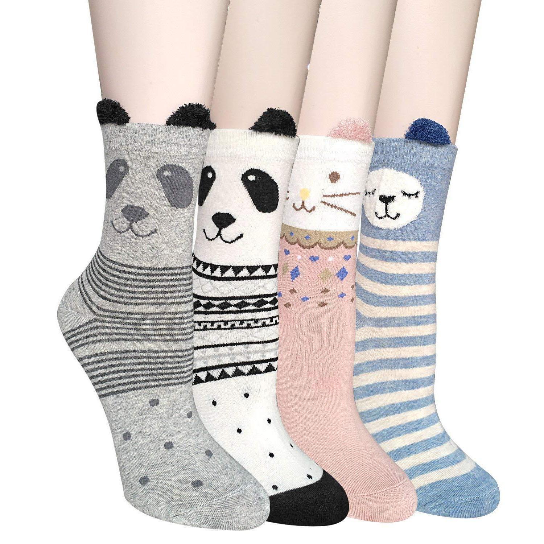 ysense 4 5 pairs womens cute funny