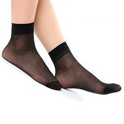 NEW 12 Pairs Ann Diane Women's Lady's Ankle High Hosiery Soc