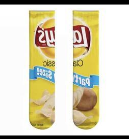 Lays Classic Potato Chip Bag Fun Novelty Socks
