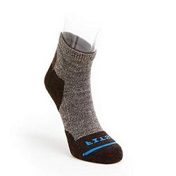 FITS Light Hiker Quarter Socks Brown, S