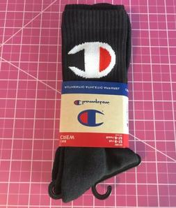 Champion Logo Crew Socks Men's Sz. L