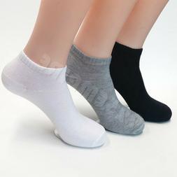 Lot 12 Pairs Ankle/Quarter Crew Men's Sport Socks Cotton Low