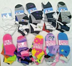Lot 6 12 Pairs Kids Ankle Socks Toddler Boy Girl Casual Mult