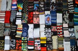 Lot of 10 Stance Mens Crew Socks Size Large L, Grade B Socks