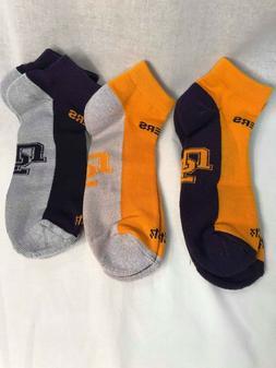 LSU 47 Brand 3 Pair Variety Moisture Wicking Ankle Socks  Si