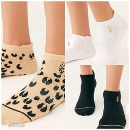 Lucky Honey x FP Free People Movement 3-Pack Ankle Socks Whi