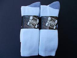 One Tough Sock Made In USA Heavy Crew Work Socks Six Pairs S