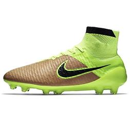 NIKE Men's Magista Obra Leather Firm Ground Soccer Shoes