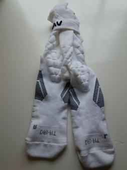 NIKE Men 2XL   ~  VAPOR Football Socks WHITE