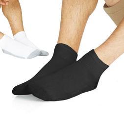 Hanes Men's 6-24 Pack Classics Ankle Socks Sock Size 10-13 /
