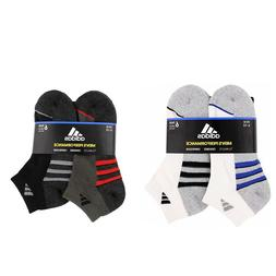 Adidas Men's 6-pair Low Cut Sock with Climalite White Black