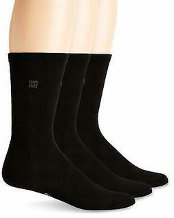 Chaps Men's Assorted Solid Dress Crew Socks  - Choose SZ/Col