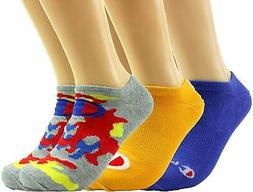 Champion LIFE Men's Camo Super No Show Socks 3-Pack