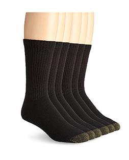 Gold Toe Men's Cotton Crew Athletic Sock 6-Pack  13-15 / Sho