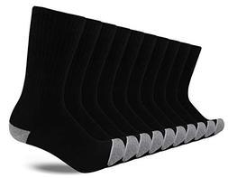 JOURNOW Men's Cotton Moisture Wicking Extra Heavy Cushion Cr