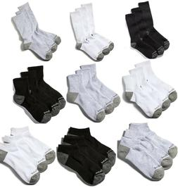 Timberland Men's Crew Length Socks White or Black Style IM40