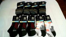 C9 Champion Men's Crew, No Show Socks Assorted Colors Shoe S