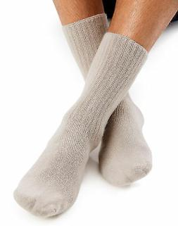 Men's Crew Sock Comfort toe Reinforced heel cushioned World'