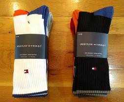 Men's Tommy Hilfiger Crew Socks 4-Pack Pair Casual Athletic