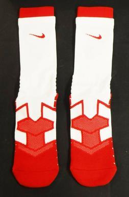 Nike Men's Dri Fit Vapor Crew Socks PSX311-165, Red Cardinal