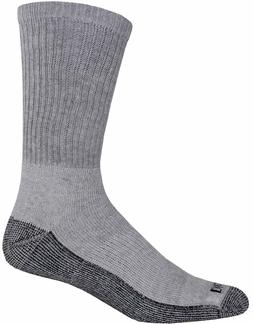 Dickies Men's Dri-Tech Work Crew Socks Grey 10-13 Sock/6-12