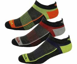 Saucony Men's Inferno No Show 3-Pack Running/Athletic Socks,