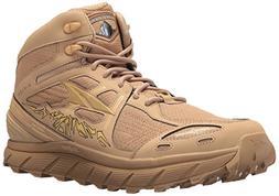 Altra Men's Lone Peak 3.5 Mid Mesh Trail Running Shoe, Sand,