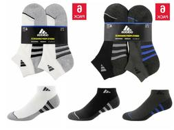Adidas Men's Low Cut Ankle Socks with Climalite, 6-pair Sele