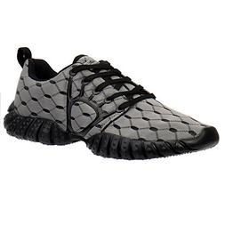 ALEADER Men's Mesh Cross-Traning Running Shoes Gray/Black 11