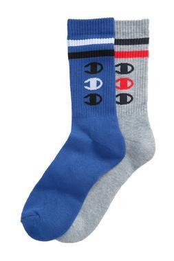 men s performance vertical logo crew sock
