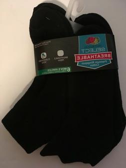 Fruit of the Loom Men's Select Breathable Ankle Socks Pack o