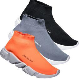 Men's Ultralight Fly-Knit Socks Shoes Sports Sneakers Elasti