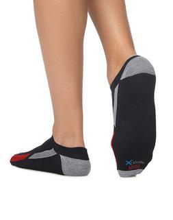 Hanes Men's Socks 4-Pack X-Temp Arch Support Liner FreshIQ C