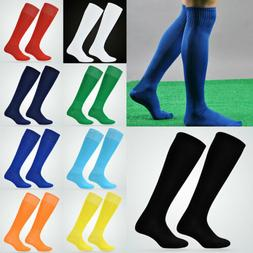 Men Adult Sport football Soccer Long Socks Over Knee High So