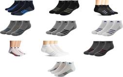 adidas Men's Superlite Low Cut Socks, 3 Pairs, 10 Colors