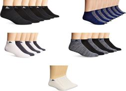 adidas Men's Superlite Low Cut Socks, 6 Pairs, 5 Colors