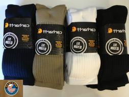 Carhartt Men's Workwear Cushioned Crew Socks 3 Pack