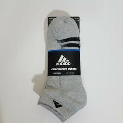 ADIDAS Men Socks LOW CUT Grey CLIMA LITE Compress Cushioned