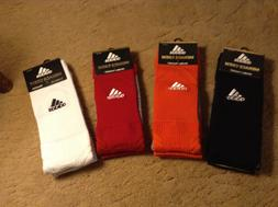 ADIDAS MENACE CREW TRAXION SOCKS ASSORTED SIZE AND COLORS 1