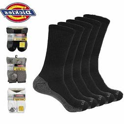 Dickies Mens 5-Pack Dri-Tech Comfort Cushion Sole Reinfoced