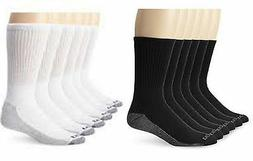 Dickies Mens Big and Tall Dri Tech Crew Work Socks 3 Pair Sh