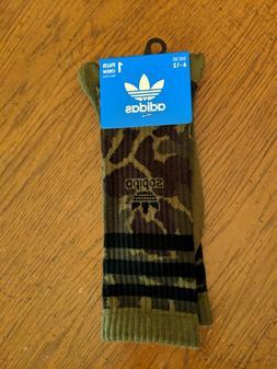 Adidas Mens Camo Roller I  Crew Socks - New - Soldout - Shoe