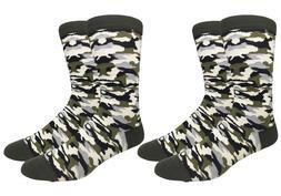 Mens Camouflage Camo Socks Military Army Marine USA Armed Fo