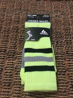 Adidas Men's Climalite Formation Team Speed Volt Socks Sz.