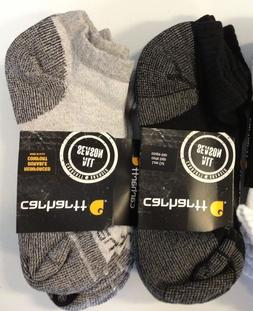 Carhartt A60 Mens Cotton Low‑Cut Work Sock 3‑Pack