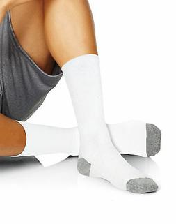 Hanes Mens Crew 6-Pack Socks X-Temp Comfort FreshIQ Moisture