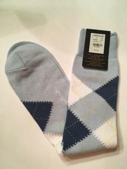 BROOKS BROTHERS Mens Dress Argyle Socks Egyptian Cotton & Ny