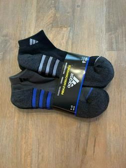 Adidas Mens Performace 6 Pair Socks Low Cut FREE SHIPPING!!!