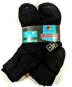 Fruit of The Loom Mens Premium Ankle Socks Shoe Size 12-16 X